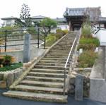 安楽寺の石段
